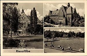 Ansichtskarte / Postkarte Riesa an der Elbe,