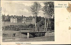Ansichtskarte / Postkarte Jahnsdorf im Erzgebirge, Blick