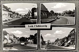 Ansichtskarte / Postkarte Leck in Nordfriesland, Hauptstraße,