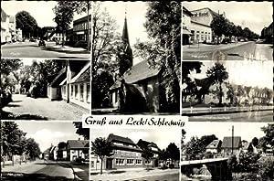 Ansichtskarte / Postkarte Leck in Nordfriesland, Markt,