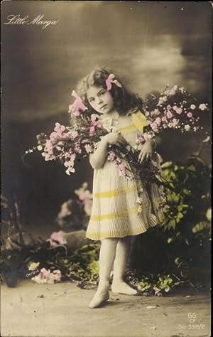 Ansichtskarte / Postkarte Little Marga, Mädchen mit