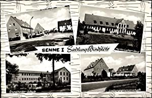 Ansichtskarte / Postkarte Windflöte Senne I Bielefeld