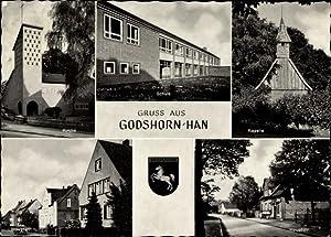 Ansichtskarte / Postkarte Godshorn Langenhagen in Niedersachsen,