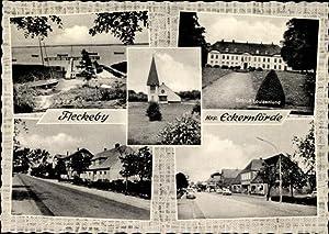 Ansichtskarte / Postkarte Fleckeby in Schleswig Holstein,