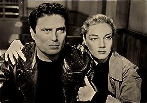 Ansichtskarte / Postkarte Schauspieler Simone Signoret und