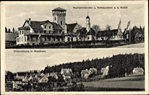 Ansichtskarte / Postkarte Westheim Neusäß in Schwaben,
