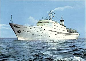 Ansichtskarte / Postkarte Urlauberschiff GTMS Fritz Heckert,