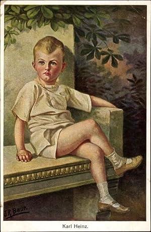 Künstler Ansichtskarte / Postkarte Baur, J. R.,