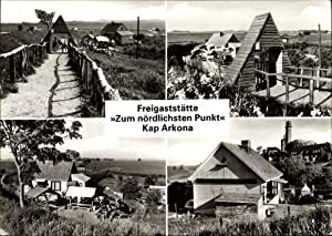 Ansichtskarte / Postkarte Insel Rügen, Freigaststätte Zum