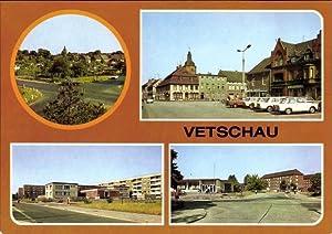 Ansichtskarte / Postkarte Vetschau im Spreewald, Stadtansichten,