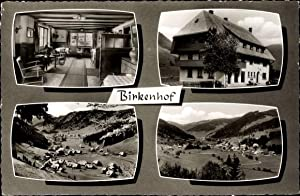 Ansichtskarte / Postkarte Menzenschwand St. Blasien im