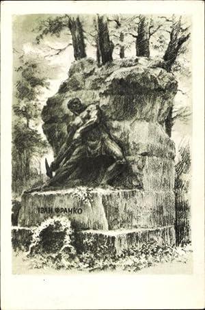 Künstler Ansichtskarte / Postkarte Lwów Lemberg Ukraine,