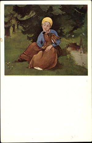 Künstler Ansichtskarte / Postkarte Lang, Hans, Brüderchen