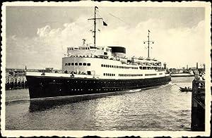 Ansichtskarte / Postkarte Ostende Westflandern, Mailboat Ostende