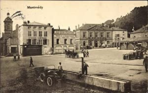 Ansichtskarte / Postkarte Montmédy Lothringen Meuse, Straßenpartie,