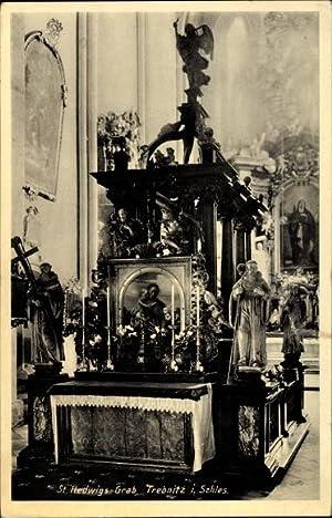 Ansichtskarte / Postkarte Trzebnica Trebnitz Schlesien, St.