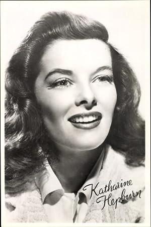 Ansichtskarte / Postkarte Schauspielerin Katharine Hepburn, Portrait,
