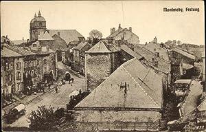 Ansichtskarte / Postkarte Montmédy Lothringen Meuse, Festung,