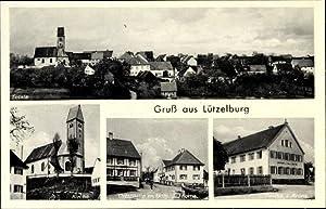 Ansichtskarte / Postkarte Lützelburg Gablingen Schwaben, Blick