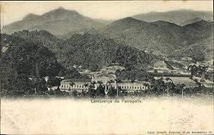 Ansichtskarte / Postkarte Petrópolis Brasilien, Lembranca, Ortschaft