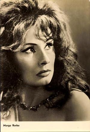 Ansichtskarte / Postkarte Schauspielerin Marga Barbu, Amza