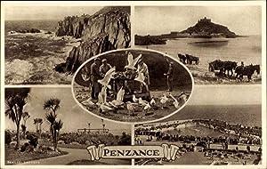Ansichtskarte / Postkarte Penzance Cornwall England, Penlee