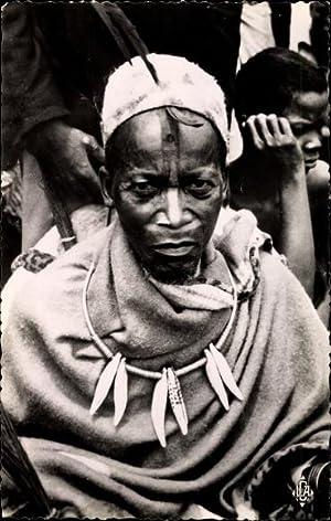 Ansichtskarte / Postkarte M'Be Moyen Congo Republik