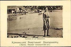 Ansichtskarte / Postkarte Tomini Indonesien, Koninklijke Paketvaart