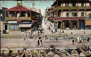 Ansichtskarte / Postkarte Port Said Ägypten, Main