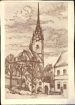 Künstler Ansichtskarte / Postkarte Lidl, Josef, Kornice
