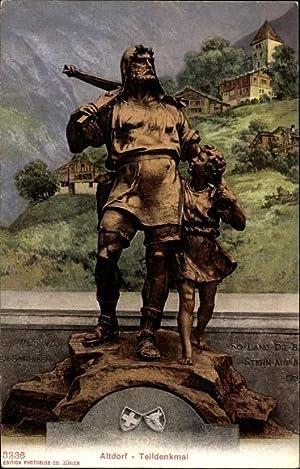 Ansichtskarte / Postkarte Altdorf Kt. Uri Schweiz,