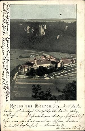 Ansichtskarte / Postkarte Beuron Württemberg, Totalansicht vom