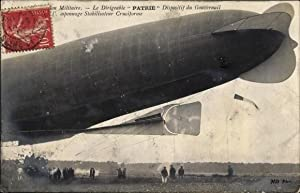 Ansichtskarte / Postkarte Aviation militaire, Dirigéable Patrie,