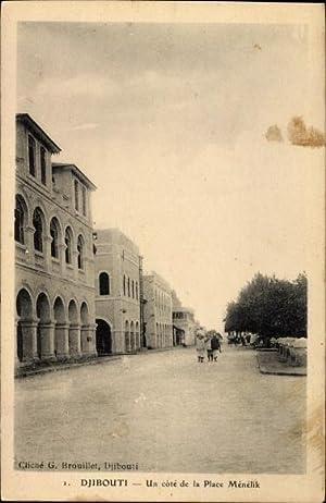 Ansichtskarte / Postkarte Dschibuti, Un cote de