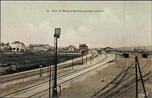Ansichtskarte / Postkarte Massy Essonne, Gare de