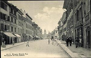 Ansichtskarte / Postkarte Morges Kt. Waadt Schweiz,