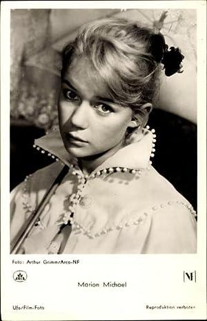 Ansichtskarte / Postkarte Schauspielerin Marion Michael, Portrait,