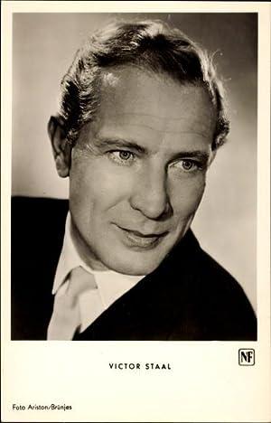 Ansichtskarte / Postkarte Schauspieler Victor Staal, Portrait,