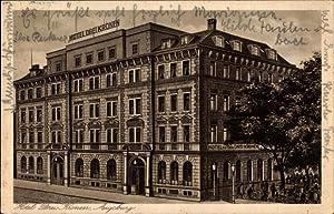 Ansichtskarte / Postkarte Augsburg in Schwaben, Blick