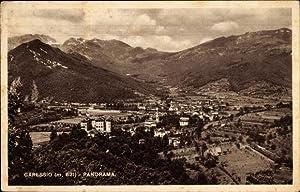 Ansichtskarte / Postkarte Garessio Piemonte, Panoramablick ins