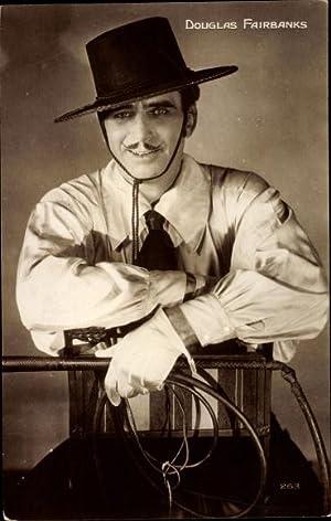 Ansichtskarte / Postkarte Schauspieler Douglas Fairbanks, Portrait