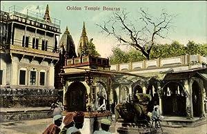 Ansichtskarte / Postkarte Varanasi Benares Indien, Golden