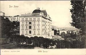 Ansichtskarte / Postkarte San Remo Liguria, Hotel
