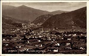 Ansichtskarte / Postkarte Garessio Piemonte, Panorama Generale,