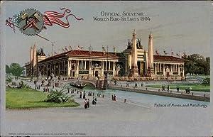 Litho St Louis Missouri USA, World's Fair