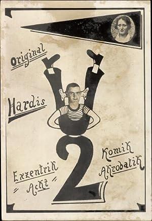 Ansichtskarte / Postkarte Original Hardis, Exzentrik Akt,