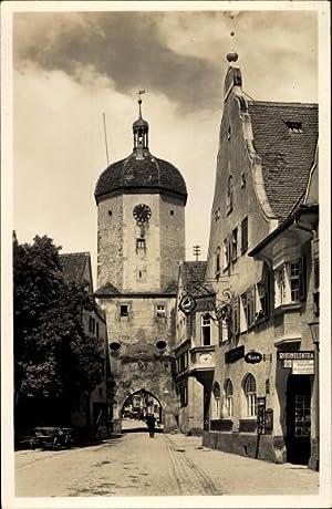 Ansichtskarte / Postkarte Oettingen an der Wörnitz