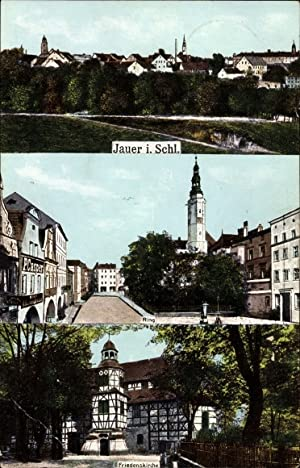Ansichtskarte / Postkarte Jawor Jauer Schlesien, Teilansichten,