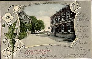Passepartout Ansichtskarte / Postkarte Schiefbahn Willich am