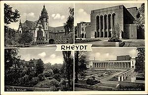 Ansichtskarte / Postkarte Rheydt Mönchengladbach Niederrhein, Rathaus,